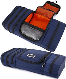 Pro Packing Cubes Travel Toiletry Bag - Packs Flat To Save S