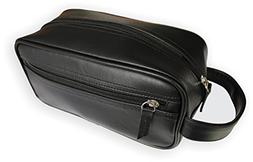 Travel Toiletry Bag/Shave Kit For Men or Women. One large Zi