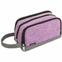 Toiletry Bag Small, Color Clash Durable Travel Kit Wash Kids
