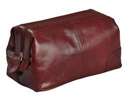 Mens Toiletry Bag Dopp Kit by Bayfeild Bags-Small Compact Mi