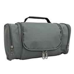 DALIX Travel Toiletry Kit Accessories Bag, Gray