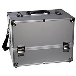"Makeup Train Case - Professional 14"" Large Make Up Artist Or"