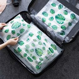 Transparent Plant Cosmetic <font><b>Bag</b></font> <font><b>