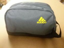 ADIDAS Travel Bag Zipper Tote Toiletry Pouch Cosmetics Black