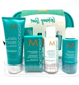 MOROCCANOIL TRAVEL KIT SET  - Treatment, Volume shampoo and