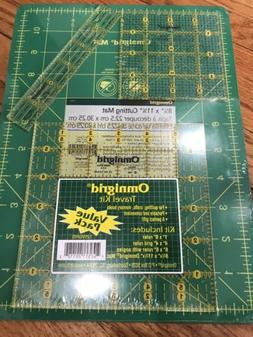 OMNIGRID Travel Kit Value Pack Includes 1 Cutting Mat & 3 Qu