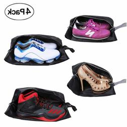 travel shoe bags set of 4 waterproof
