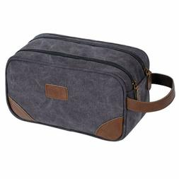 Travel Toiletry Bag Dopp Kit Organizer Men Large Shaving Cos