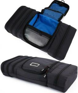travel toiletry bag pack flat space waterproof