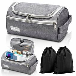 Travel Toiletry Bag Portable Cosmetic Makeup Shaving Kit Org