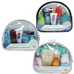 TSA Approved Mens, Womens and Baby Travel Kit Combo Set | Pr