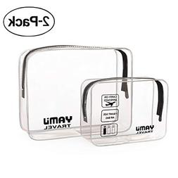 TSA Approved Toiletry Bag YAMIU Airline Compliant Waterproof