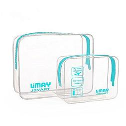 TSA Approved Toiletry Bag Travel Accessories Waterproof Airl