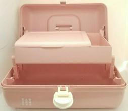 Caboodles Ultimate On-the-Go Girl Pink Retro Toiletry Kit NE