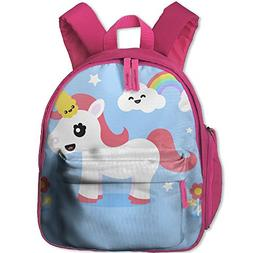 Unisex Baby Kid Unicorn Pre School Travel Camping Backpack