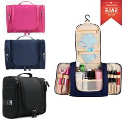 US Hanging Toiletry Bag Travel Cosmetic Kit Large Essentials