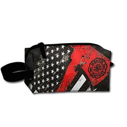 USA Thin Red Line Firefighter Axe Portable Make-up Receive B