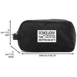 Army Force Gear Violence Is an Option Canvas Shower Kit Trav