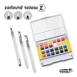 Artify Watercolor Field Sketch Set - 24 Assorted Colors with