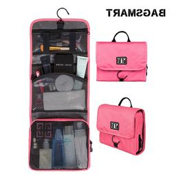 BAGSMART Waterproof Cosmetic Bag Women <font><b>Travel</b></