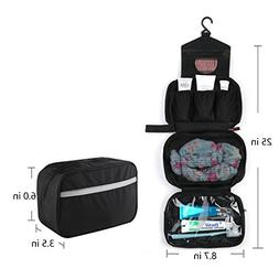 Vivefox Waterproof Hanging Travel Toiletry Bag - Travel Cosm 356a26cd4e5bc