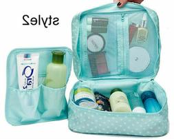 Waterproof Hanging Toiletry Bag Travel Cosmetic Kit Large Es