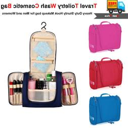 Waterproof Hanging Toiletry Bag Travel Cosmetic Kit Essentia