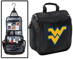 West Virginia University Toiletry Bags Or Hanging WVU Shavin