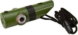 SE - Whistle - 7 In 1, Survival W/ White LED Flashlight