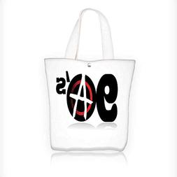 Women's Canvas Tote Bag, Collection Nineties Revolution Ener