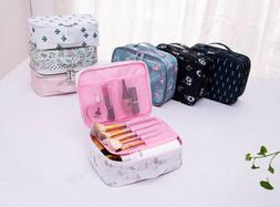 Women Cosmetic Bag Makeup Case Wash Toiletry Organizer Stora