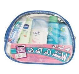 9-Piece Women039;s Travel Kit with Zippered Bag by Convenien
