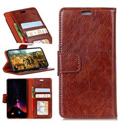 TOTOOSE Xiaomi Redmi 6A Leather Wallet Case with Shell Xiaom